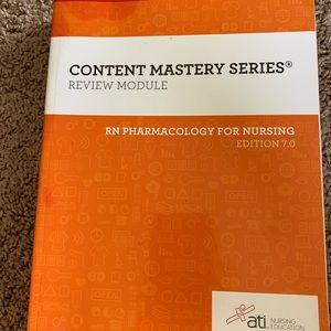 ATI RN pharmacology review book